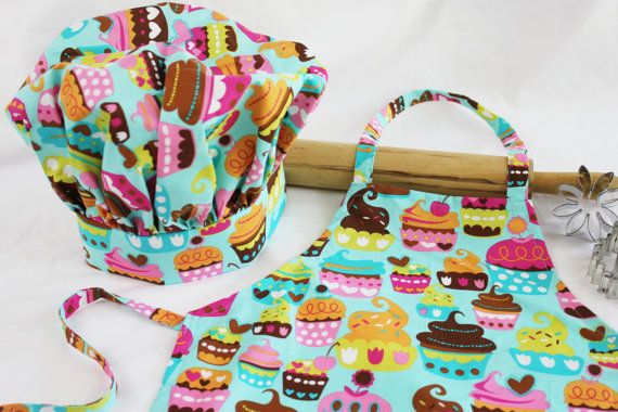 Sweet Cupcakes Child Apron and Adjustable by SweetApronzNCupcakes, $29.99