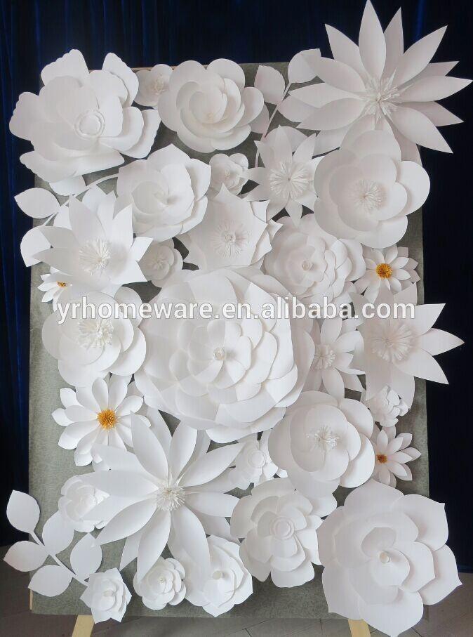 Paper flower wall decoration, wedding decoration, paper flower backdrop