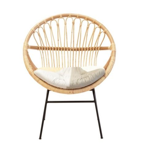 Basket Chair Natural by The Family Love Tree