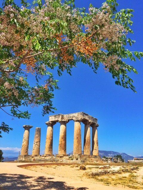 Temple of Apollo Ancient Corinth