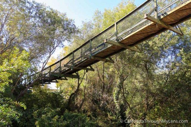 Arroyo Grande Bridge - Swinging Bridge outside of Pismo Beach