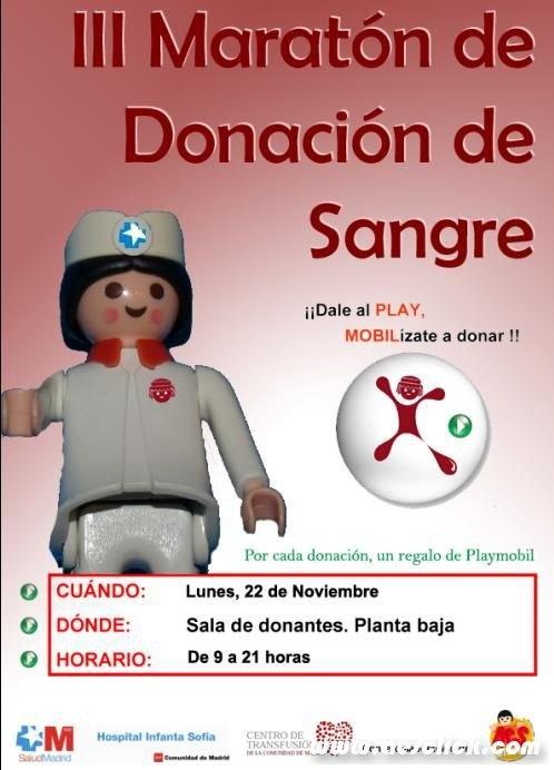 III Maratón de Donación de Sangre