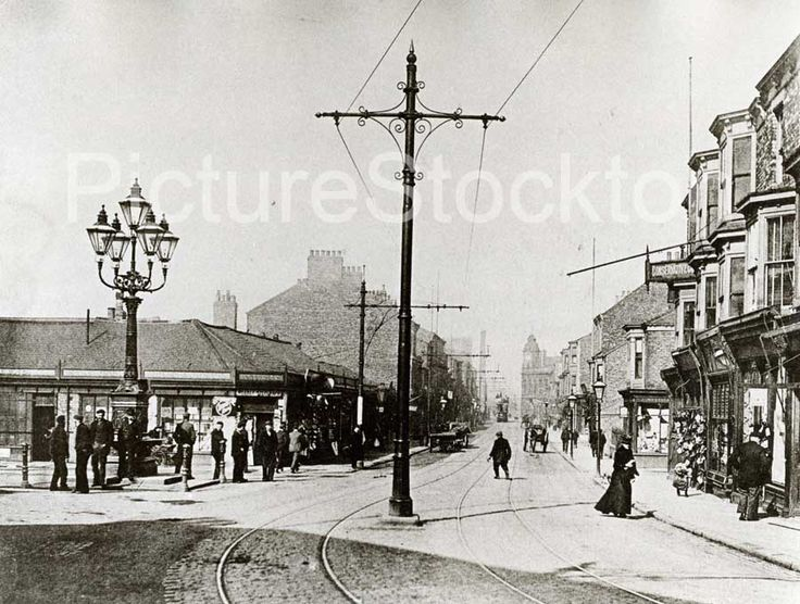 Mandale Road, Thornaby c1905