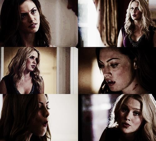 Rebekah Mikaelson and Hayley Marshall