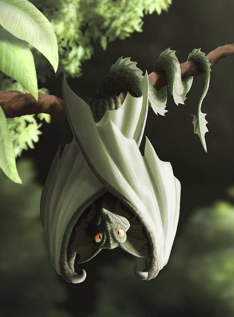 Dragons of the Wood - so cool - want to see one flying around