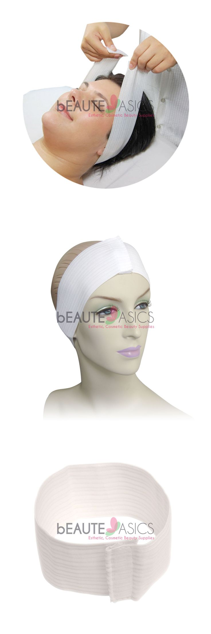 wholesale Skin Care: 480 Disposable Stretch Spa Headband With Hook And Loop Fastener - #Ah2201x10 BUY IT NOW ONLY: $159.95