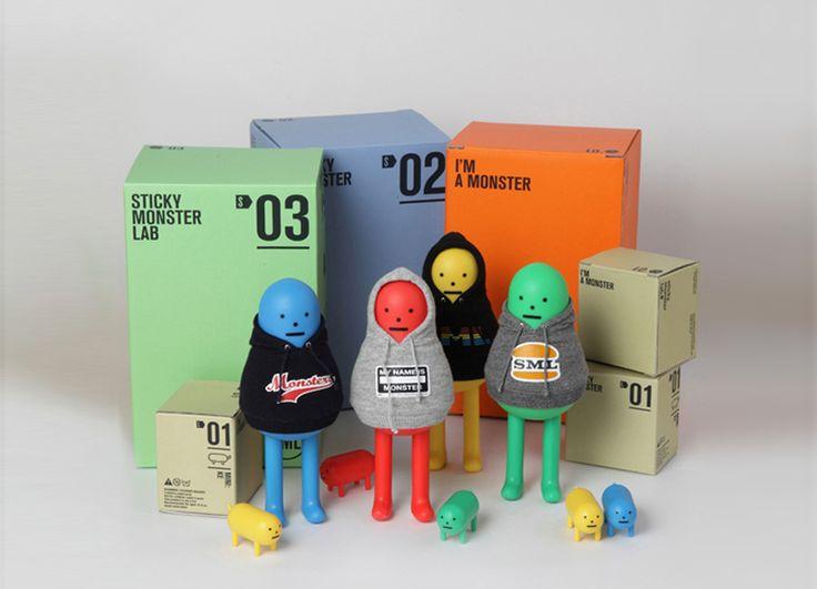 Los Toy Arts de Sticky Monster Lab