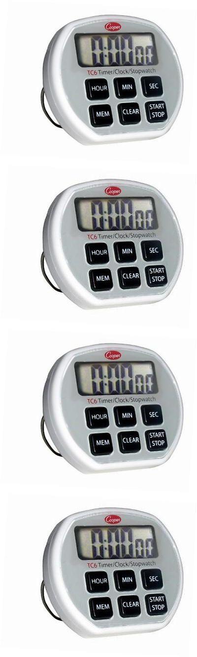 Stopwatches 166149: -Atkins Tc6-0-8 Digital Timer Clock Stopwatch With Splashproof Case, 2 -> BUY IT NOW ONLY: $31.36 on eBay!
