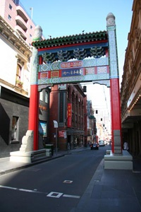 Welcome to Chinatown Melbourne    Lots of restaurants and special promotions.