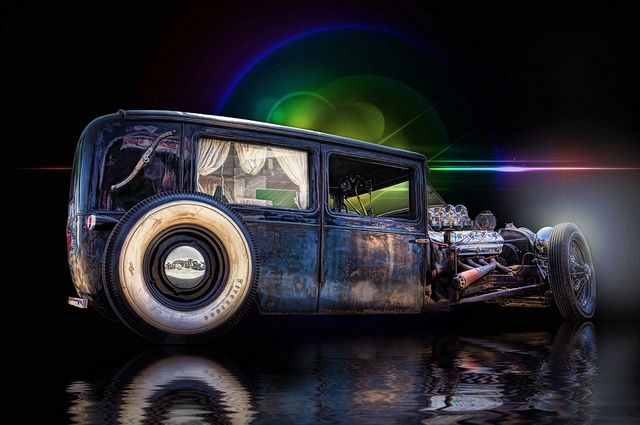 Rat Rod Last Ride .... by Rat Rod Studios