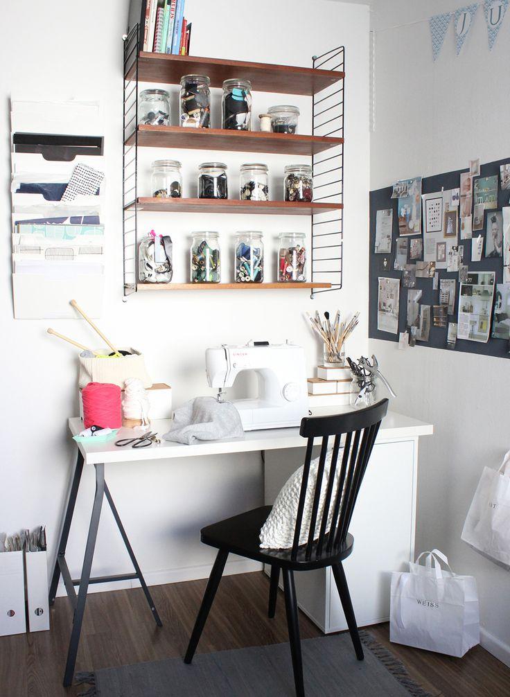 17 best ideas about schreibtisch schwarz on pinterest   ikea, Hause ideen