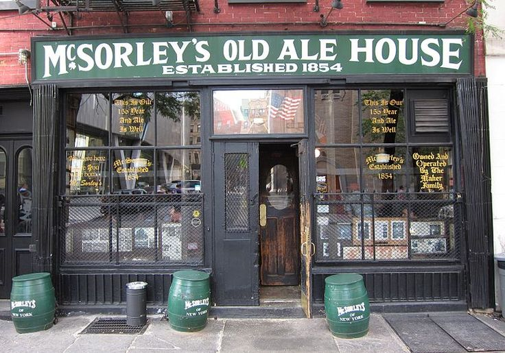 McSorley's Old Ale Ale House- our home away from home