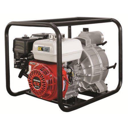BE Pressure TP-3065HR Trash Pump, 3 inch, GX200, 264 GPM, 6.5 HP