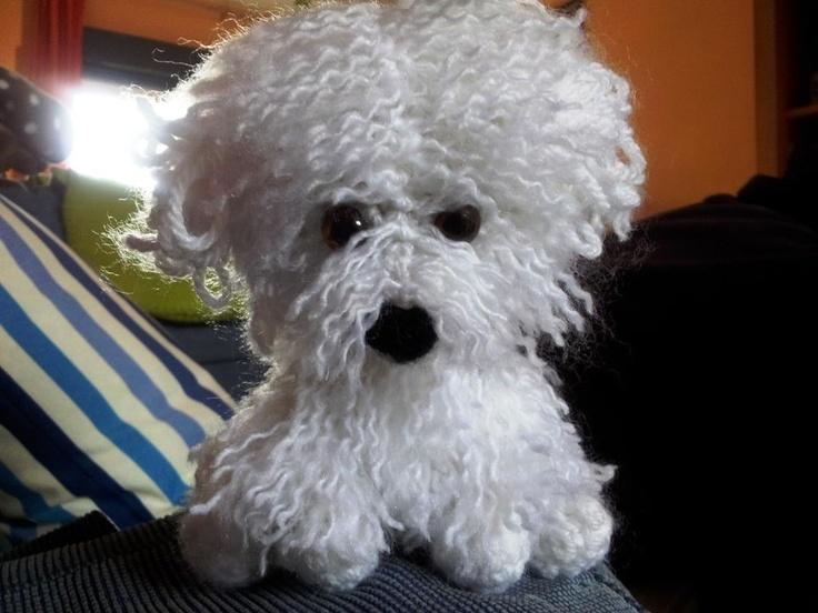 Bichon Maltes Gina Rosmigurumi Art Amigurumis Crochet