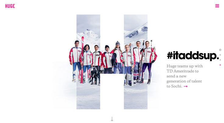 Huge Inc. - Site of the Day February 10 2014