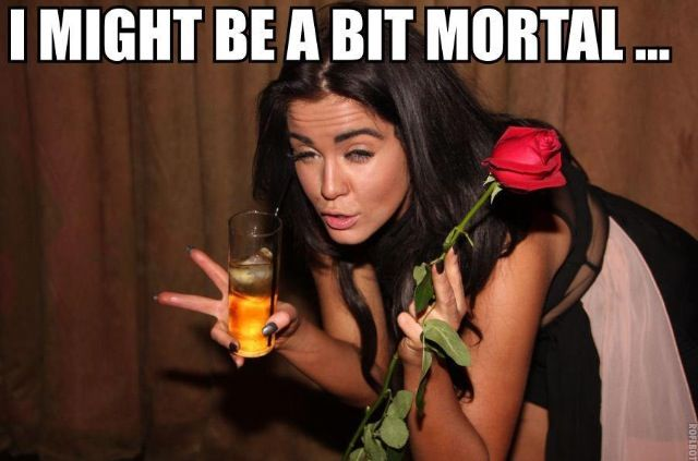 . I might be a bit mortal.  Funny. Quote. Geordie shore
