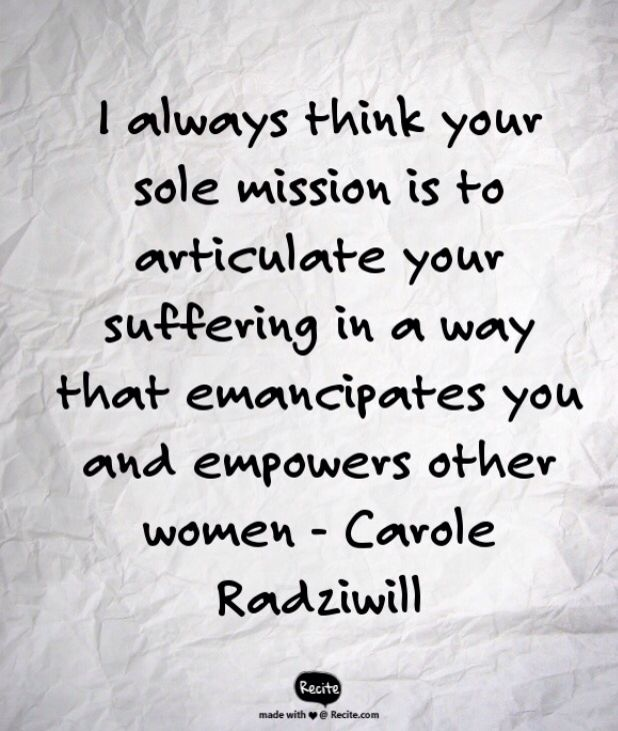 An amazing quote from Carole Radziwill in RHONYC S08E6