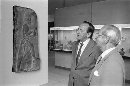 """Badisches Landesmuseum - Neuerwerbung eines Reliefs """"Gabenbringer vom Königspalast in Persepolis"""""""