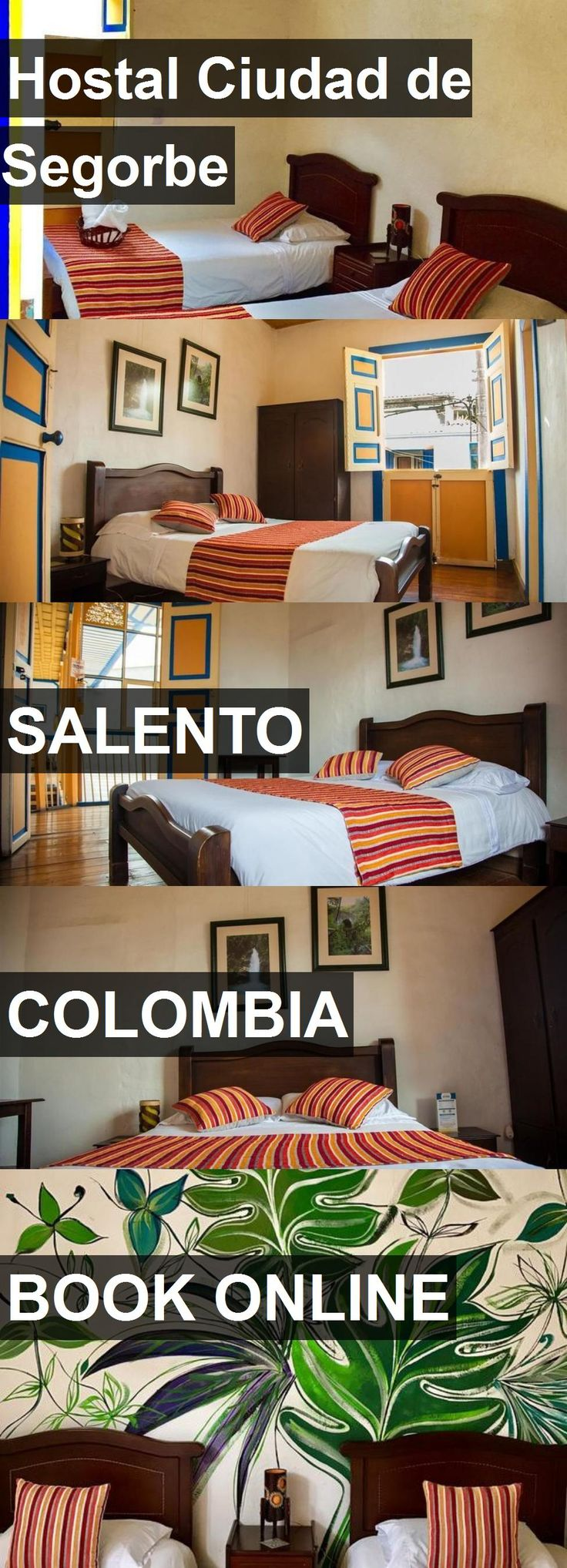 Hotel Hostal Ciudad de Segorbe in Salento, Colombia. For more information, photos, reviews and best prices please follow the link. #Colombia #Salento #travel #vacation #hotel