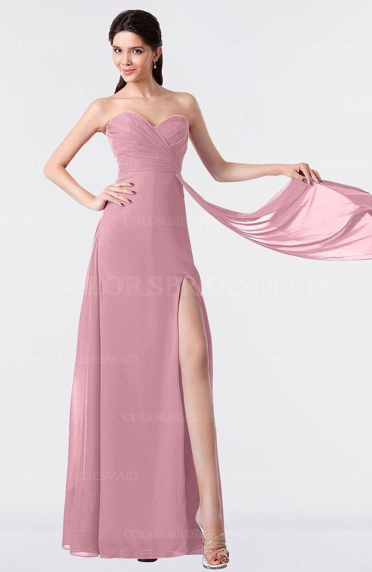 Contemporáneo Oscuros Vestidos De Dama De Color Púrpura Inspiración ...