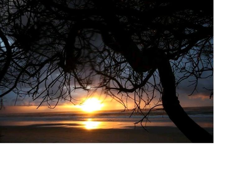 Beautiful sunrise this morning - Byron Bay