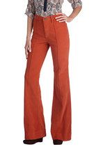 Rocking Major Cords Pants in Tangerine | Mod Retro Vintage Pants | ModCloth.com