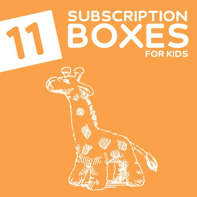 11 Fun & Educational Monthly Subscription Boxes for Kids- monthly educational activities and crafts delivered to you every month. Love these!