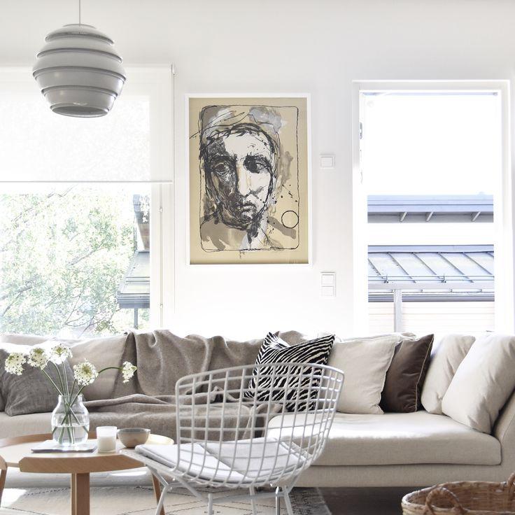 Scandinavian. Livingroom. Art. Kuutti Lavonen.