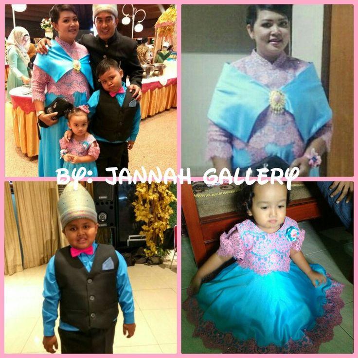 Created by jannah# balai makarti muktitama# lace pink blue# iin & nia wedd