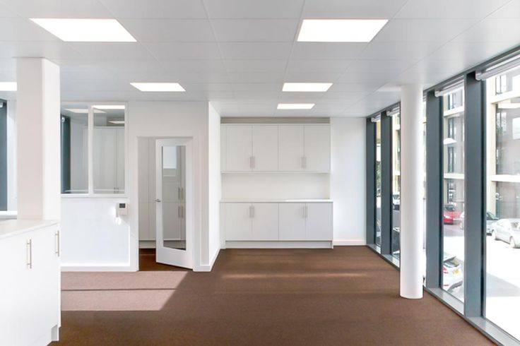 Wye House was an office fitout that we completed for our clients. It's a relatively simple floorplan, we re-configured the interior space to create a modern office space, that is semi open plan.