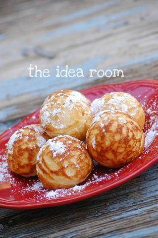 Aebelskivers Recipe via Amy Huntley (The Idea Room)