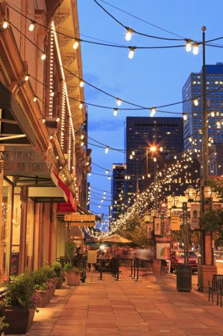 Larimer Square, Denver, Colorado, United States of America, North ...