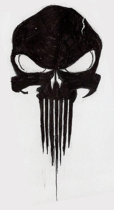 Tattoo of punisher