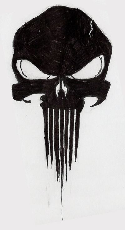 Tattoo of punisher
