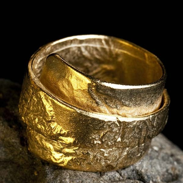 Gold Wrap Ring 24 k gold plated, JunamJewelry $99.00 Etsy.
