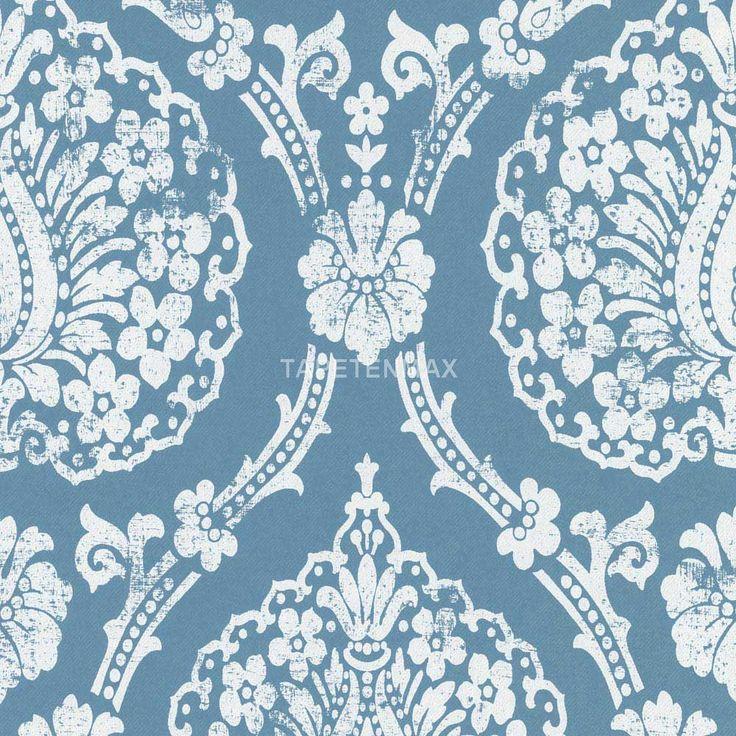 Scandinavian Vintage – Marburg Vliestapete – Tapete in den Farben Blau jetzt bei TapetenMax® ✔ Schnelle, sichere Lieferung ✔ Kostenloser Versand ab 50€