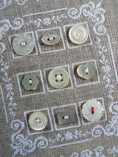 Good morning! I just finished a two-part post on vintage buttons–the various types of buttons, a bit of history, and a few photographs. Today I thought it might be fun to look at some ways th…