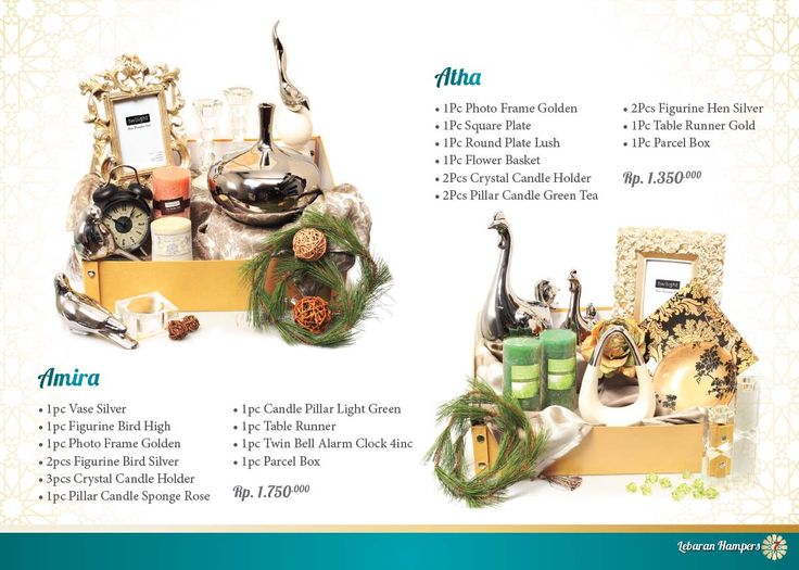 Lebaran Parcel - Amira and Atha. Click www.informa.co.id for more collection