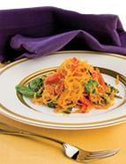 Courge spaghetti à la sicilienne