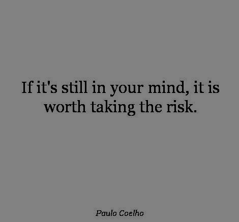 risk it.Quote