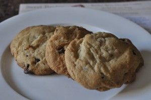 Bourbon Bacon Chocolate Cookies. Yup we're making these!