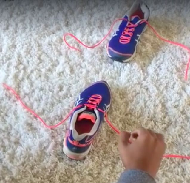 It's all about the bunny ears, people. Easy way to teach kids to tie shoes!!!