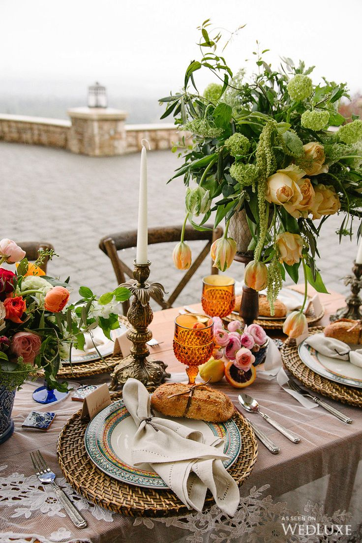 WedLuxe– An Elevated, Modern Take on Old-World Spain – Wedding Ideas | Photography by The W Portraiture Follow @WedLuxe for more wedding inspiration!