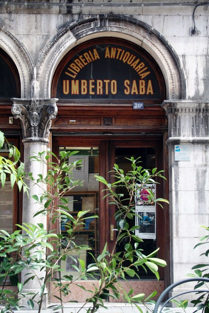 "The ""surly grace"" of Trieste's Libreria Antiquaria Umberto Saba 