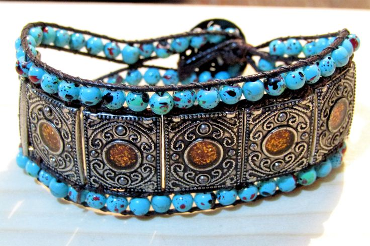 Boho bracelet.