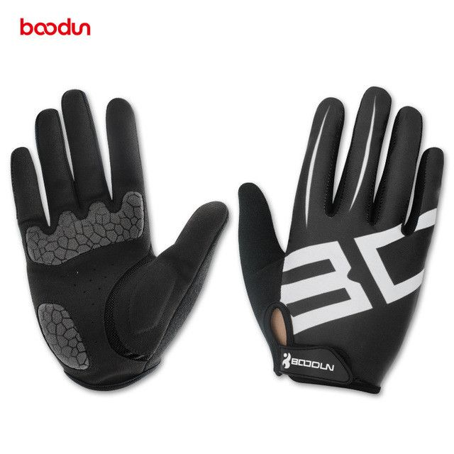 Boodun Men Women Cycling Gloves Full Finger Gel Motocycle MTB Road Bike Bicycle Riding Mittens Gants Velo guantes luva ciclismo
