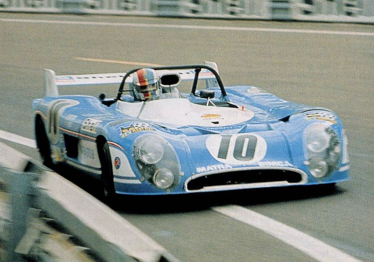 1973 .. Le Mans .. Matra Simca Shell entered , Matra MS 670 . Driven by Cevert / Beltoise . DNF>crash .