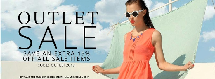 Amazing Outlet #sale from Lulu's Boutique!! Up to 90% Off clothing, shoes, accessories, and jewelry!! OMG! Must. Shop. Til. I. Drop! #shoppingaddictFTW