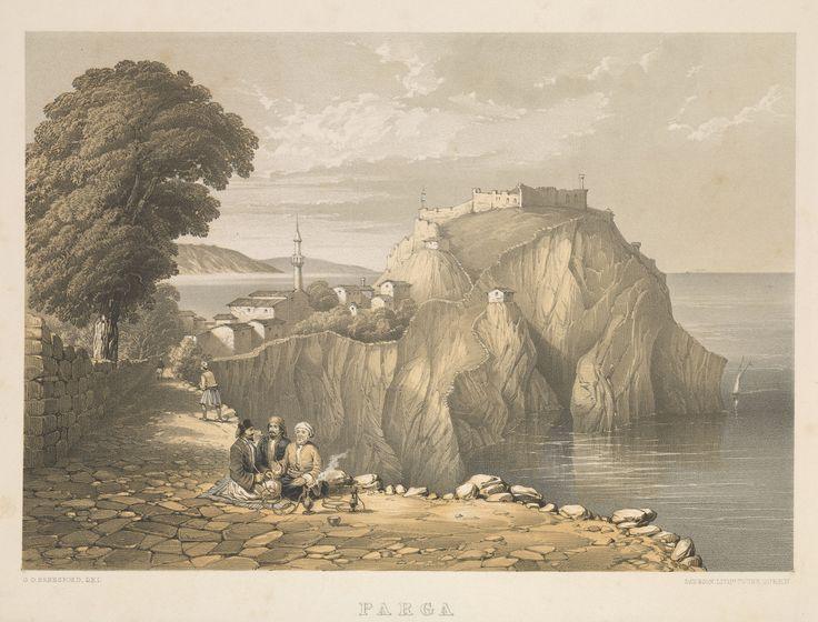 https://flic.kr/p/B6uoUK | [Ottoman Empire] Parga (Greece), 1855, 'G.D. Beresford' (Osmanlı Dönemi Parga, 1855)