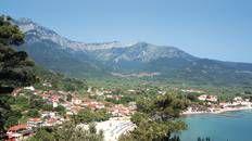 Hike up Mount Ipsarion #Thassos